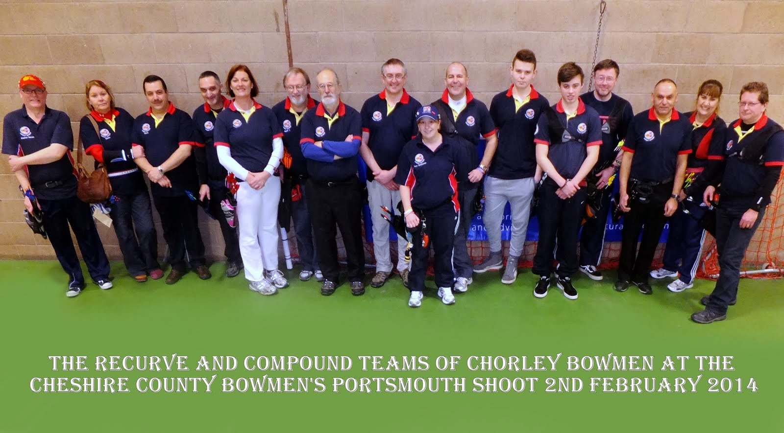 Chorley                 Bowmen At Chester Indoor 2014